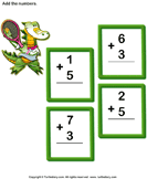 Add 1-digit numbers 9