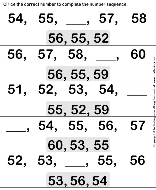 Ordinal numbers - TurtleDiary.com