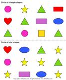 Identify shapes 6
