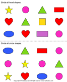 Identify shapes 7