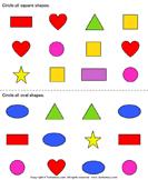 Identify shapes 8
