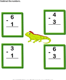 Subtract 1-digit numbers 3