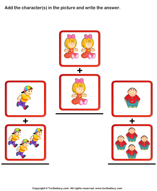 Addition with Pictures