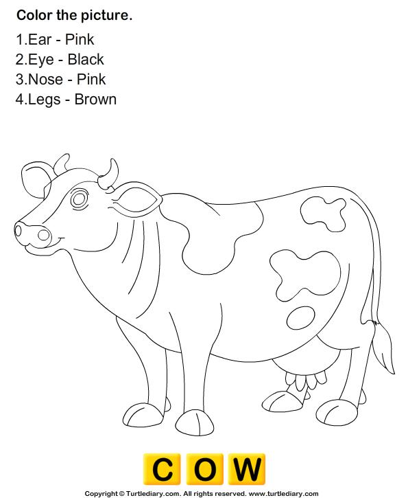 Color the Farm Animals