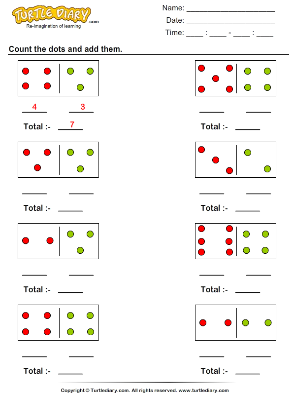Count and Add Dots