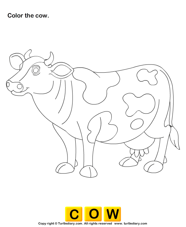 Color the Farm Animals