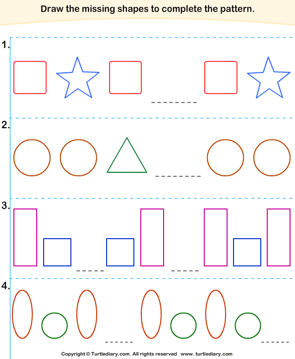 Grade 2 Patterns Worksheet Also Also Grade 2 Patterns Worksheet | Free ...