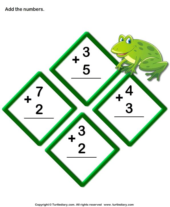 Add 1-digit Numbers