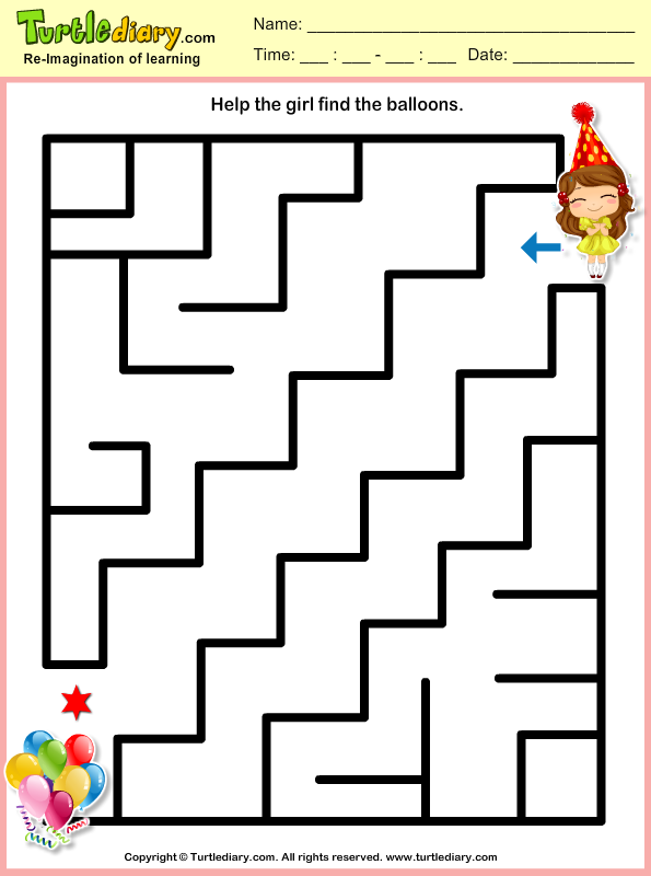 New Year Mazes