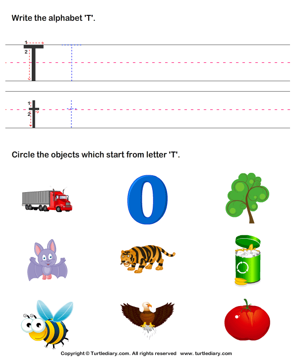 Identify Words for Letters (A-z)