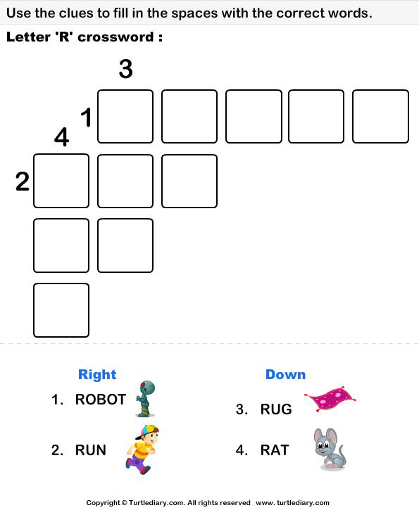 Alphabet Crossword