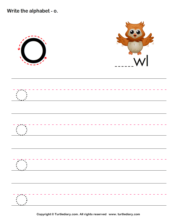 Write Letters in Lower Case (A-z)