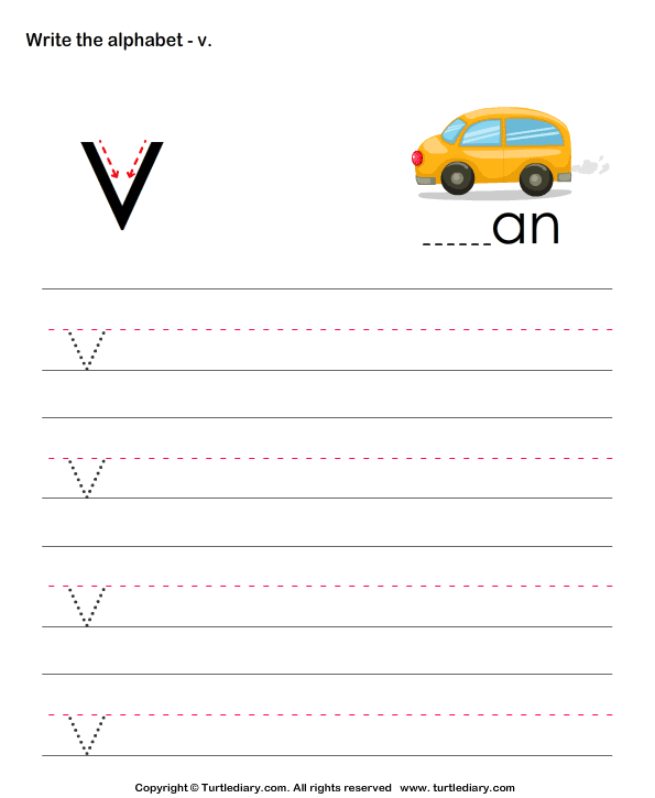Write Letters in Lower Case (A-z)