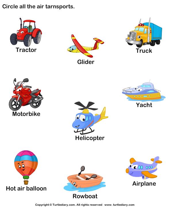 Identify Air Transports