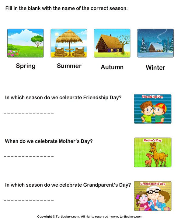 Seasons in an Year