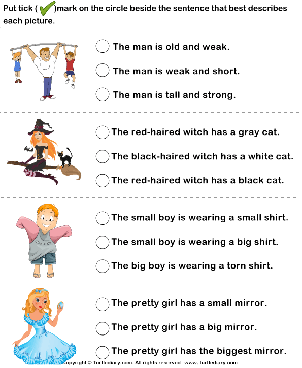 math worksheet : 8 adjectives describing your mother worksheet adjective  : Kindergarten Adjective Worksheets