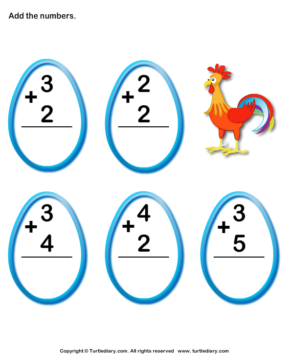 Add 1-digit Numbers