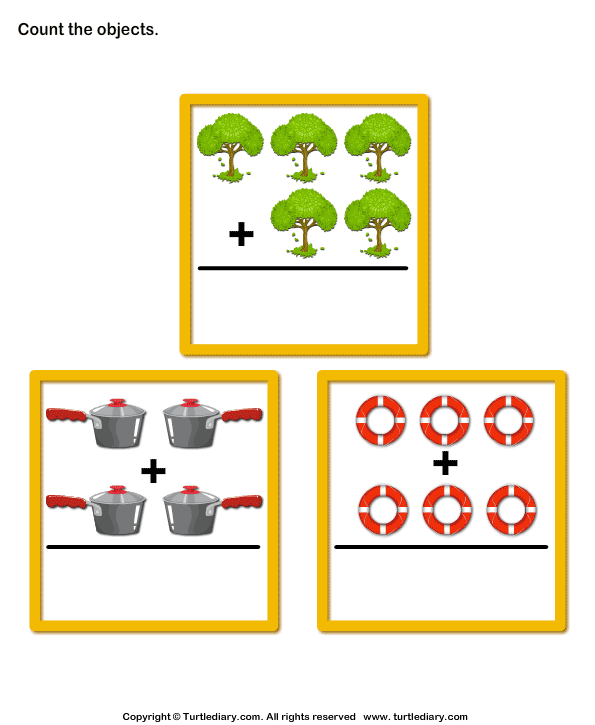 Addition with Objects