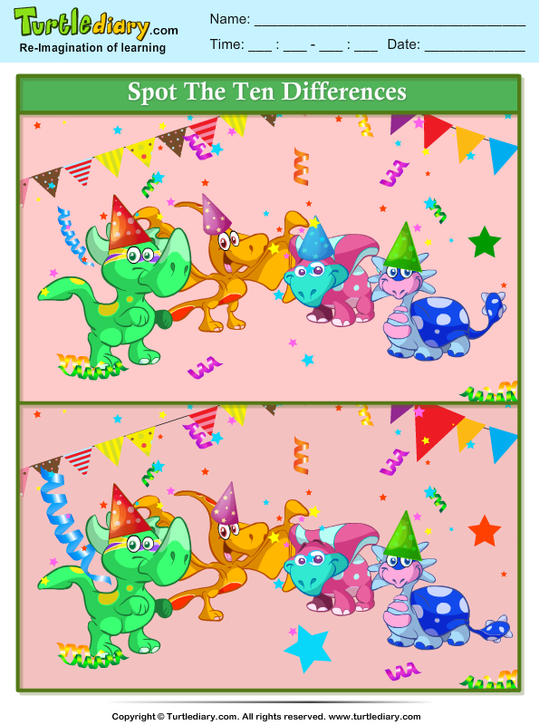 spot-the-differences-dinosaur-party Teaching Worksheets For Kindergarten on predicting worksheets for kindergarten, my community worksheets for kindergarten, good citizenship worksheets for kindergarten, esol worksheets for kindergarten, colonial times worksheets for kindergarten, narrative writing worksheets for kindergarten, dibels worksheets for kindergarten, word family worksheets for kindergarten, digital citizenship worksheets for kindergarten, drawing worksheets for kindergarten, rhyming words worksheets for kindergarten, following directions worksheets for kindergarten, main idea worksheets for kindergarten, ten frame worksheets for kindergarten, abc order worksheets for kindergarten, alphabet fun worksheets for kindergarten, geoboard worksheets for kindergarten, critical thinking worksheets for kindergarten, context clues worksheets for kindergarten,