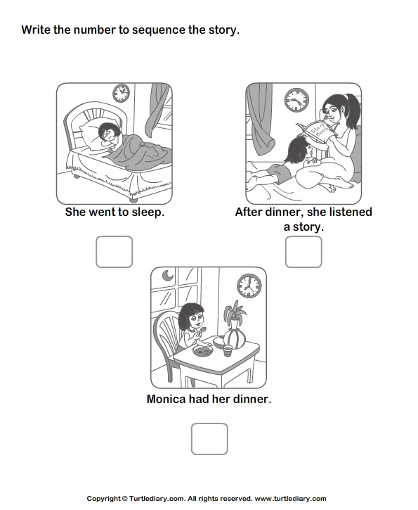 Kindergarten Story Sequencing Worksheets Scalien – Picture Story Sequencing Worksheets Kindergarten