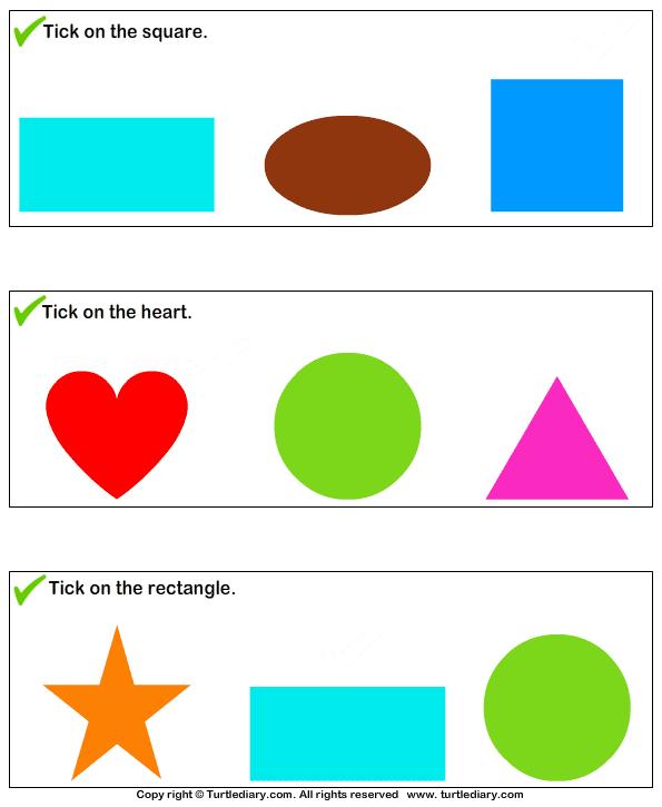 Identify Shapes