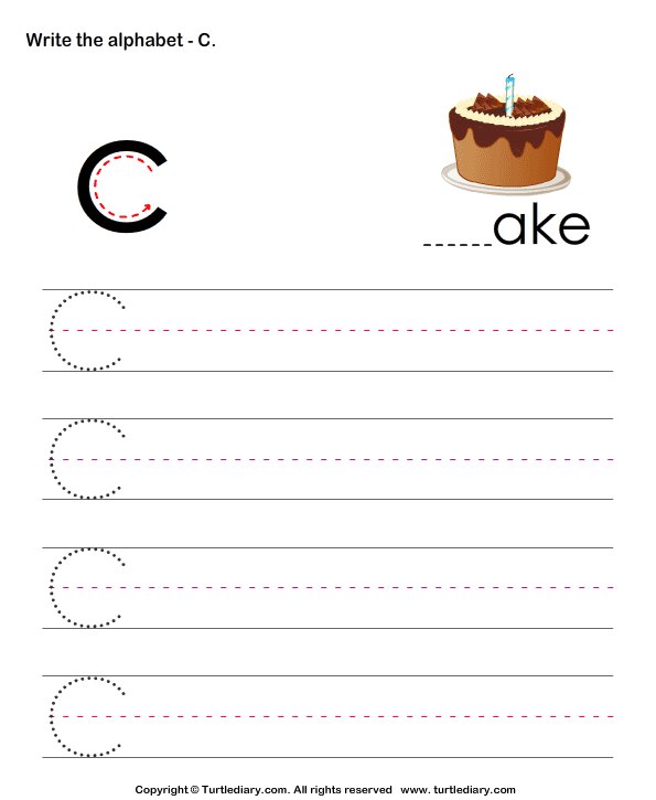 Write Letters in Upper Case (A-z)