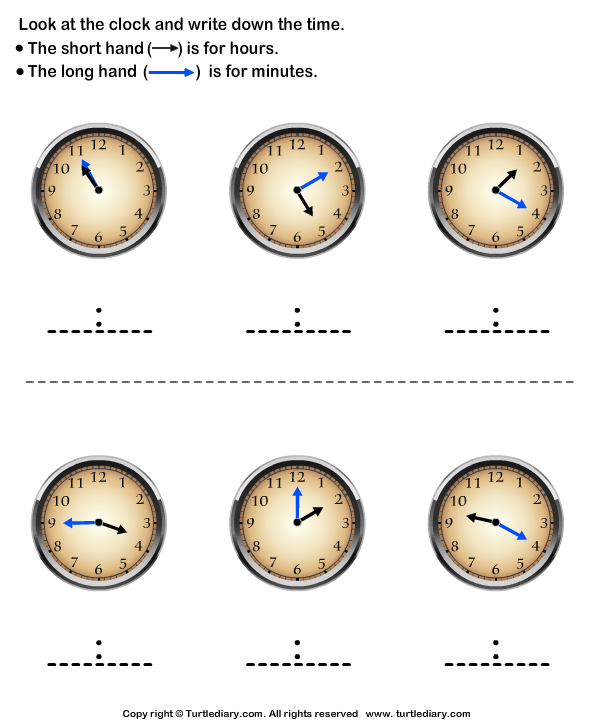 Reading Clock