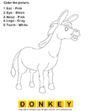 Color the farm animals 13