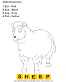 Color the farm animals 14