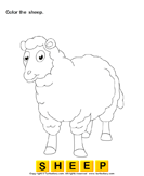 Color the farm animals 2