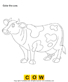 Color the farm animals 3
