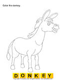 Color the farm animals 7