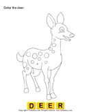 Color the wild animals 2