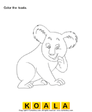 Color the wild animals 6