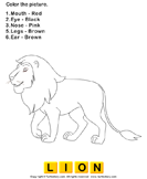 Color the wild animals 9