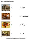 Animals Pictures and Names