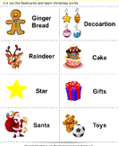 Christmas Flashcards - christmas - Preschool