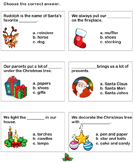 Christmas Vocabulary - christmas - Second Grade