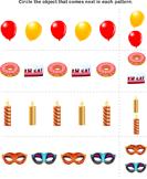 New Year Patterns - new-year - Kindergarten