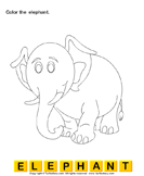 Color the Elephant