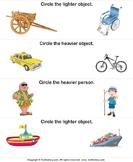 Light and Heavy - units-of-measurement - Kindergarten