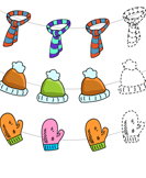 Winter Pattern - winter - Preschool