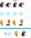 Winter Pattern - winter - Kindergarten