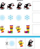 Winter Pattern - winter - Kindergarten