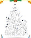Christmas Connect the Dots by Alphabet - christmas - Kindergarten