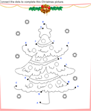 Christmas Connect the Dots by Alphabet - christmas - Preschool