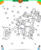Connect the Dots Santa Bike