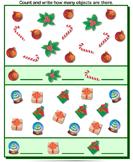 Christmas Counting - christmas - Kindergarten