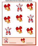 Christmas Counting - christmas - Preschool