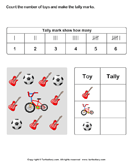 Record Data with Tally Charts - charts - First Grade